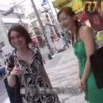 沖縄でナンパした素人娘にフェラ抜き交渉!