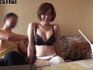 AVに応募してきた福島出身の巨乳素人妻