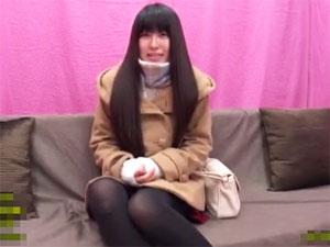 オマ○コくぱぁ!新宿でナンパした女子大生が射精のお手伝い!