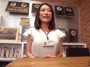 人妻SOD女子社員 織田玲子(45歳)退社記念作品||人妻・熟女