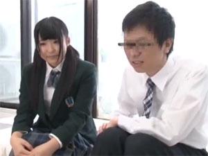 女子校生が童貞で悩む彼氏の友達と1発10万円の連続中出しSEXに挑戦!