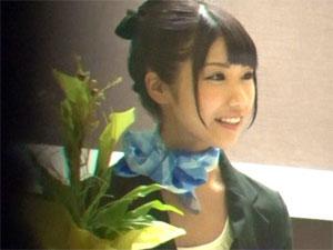 都内の某シティホテルのフロント係・新田まりあちゃんを口説いてAVデビュー!