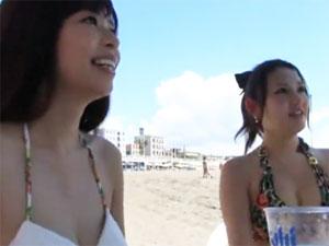 ビーチナンパ!真夏の海でGETしたビキニギャルをハメ倒す!