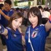 日本がコロンビアを2-1で勝ったその日の夜に二人組のサポーター美女をナンパ!