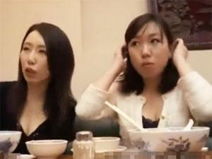 中華街でナンパした巨乳素人妻をホテルに連れ込みSEX!
