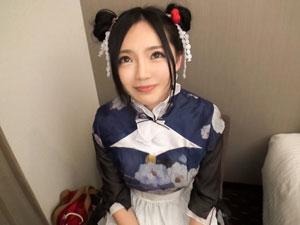 チャイナドレスとお団子頭が良く似合う台湾女子をGET!