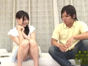 セックス指南で100万円!戸惑う仲良し姉弟をじっくりモニタリング!
