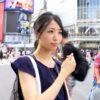 渋谷で買い物中のスレンダー美人OLをGET!